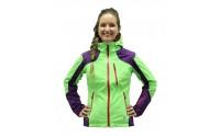 [BLIZZARD-Viva Power Ski Jacket purple/lime green/grenadine]