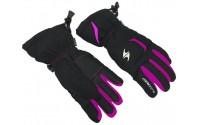 [BLIZZARD-Rider junior ski gloves, black/pink]