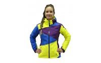 [BLIZZARD-Viva Performance Ski Jacket purple/blue/yellow]