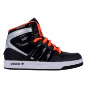 [adidas Originals-COURT ATTITUDE K / BLACK / BLACK 1 / RUNNING WHIT]