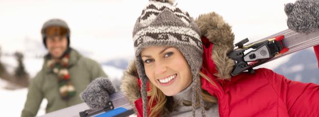 pánske a dámske lyžiarske čiapky