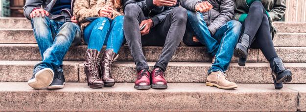 dámske a pánske topánky