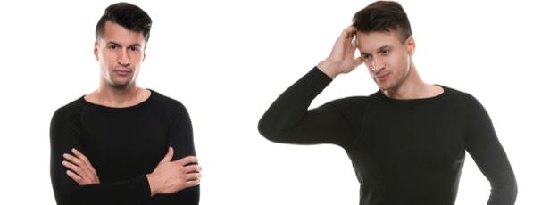 Funkčné termo tričká s dlhým rukávom