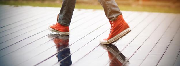 Pánska plátená obuv členková