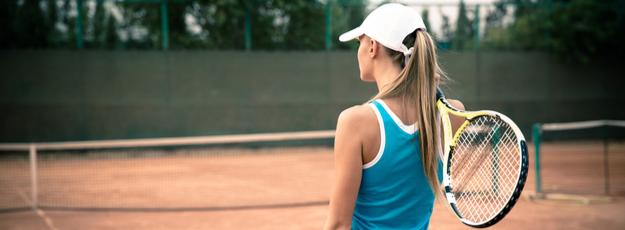 Dámske tenisové šiltovky