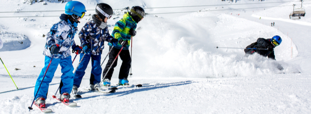Detské lyžiarske vetrovky