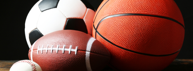 futbalové lopty, volejbalové lopty, florbalové loptičky