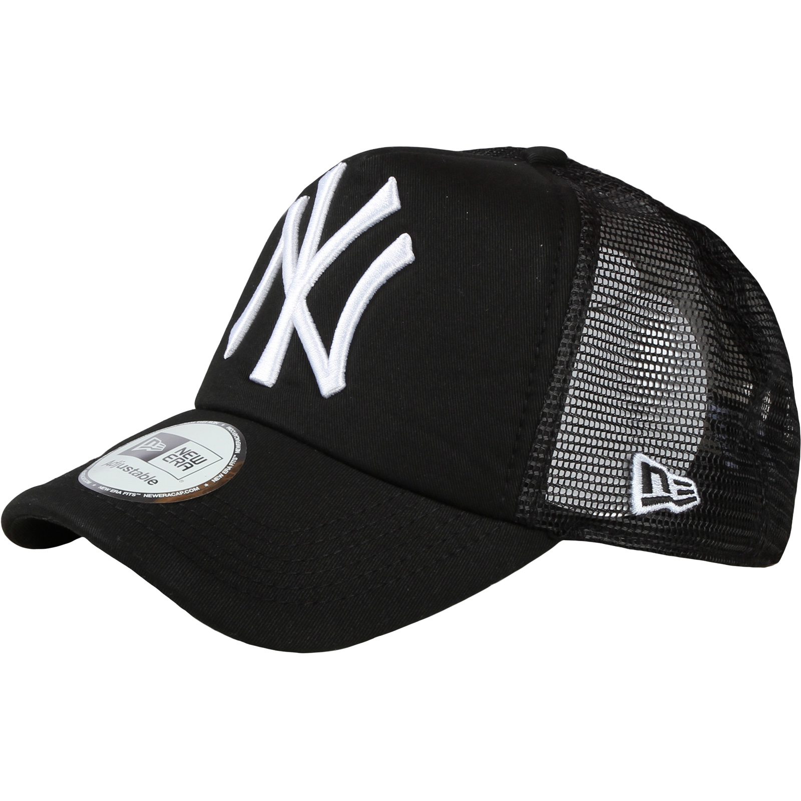 1762b69f6 NEW ERA-MLB CLEAN TRUCKER Black/Black NOS | EXIsport Eshop