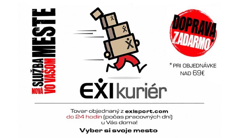 EXIkuriér- nová prepravná služba v EXIsporte